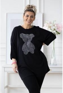czarna tunika ollin xxl