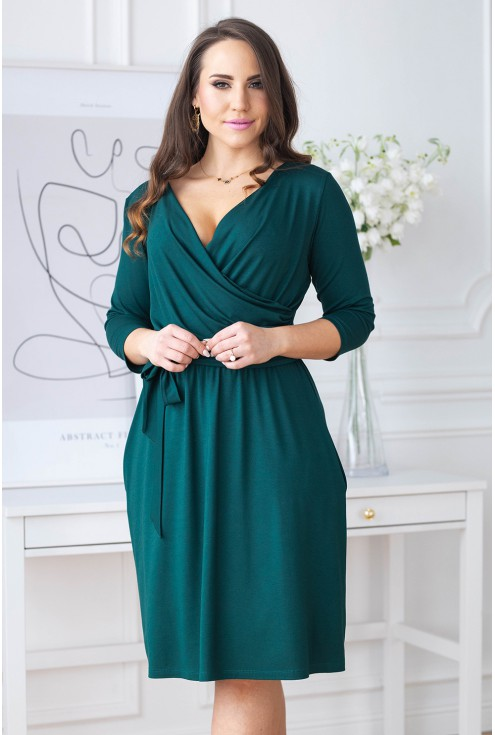 butelkowa sukienka plus size