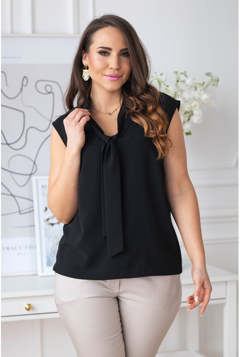 czarna bluzka plus size xxl