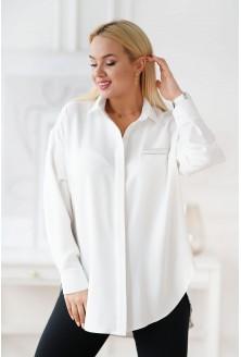biała klasyczna koszula XXL