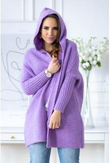fioletowy sweterek xxl