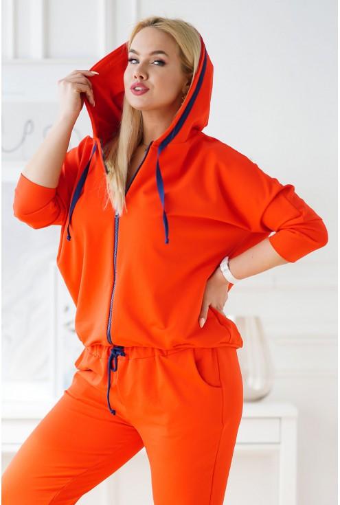 pomarańczowy dres xxl