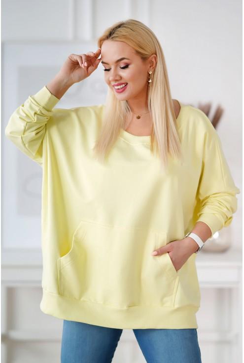 cytrynowa bluza camisa xxl