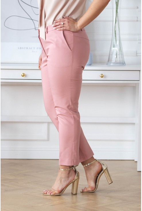 eleganckie spodnie 3/4 w kant