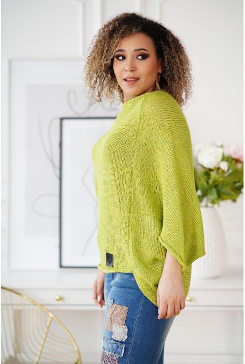 sweterek z obniżoną linią ramion Camila