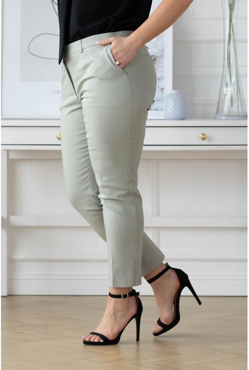 eleganckie spodnie plus size