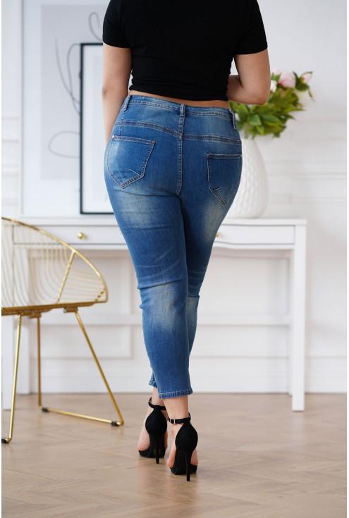 spodnie XL Brisa z panterką