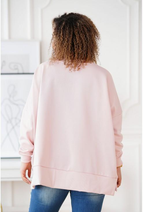 Pudrowa bluza Camisa XXL