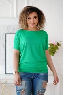 zielona bluzka plus size
