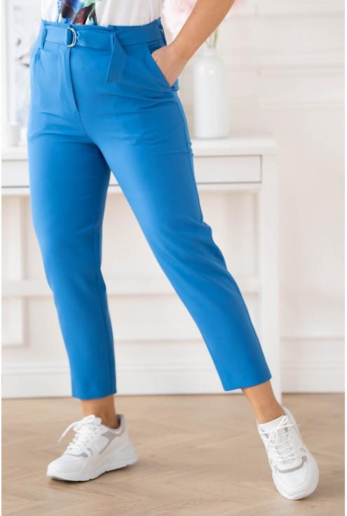 Chabrowe eleganckie spodnie