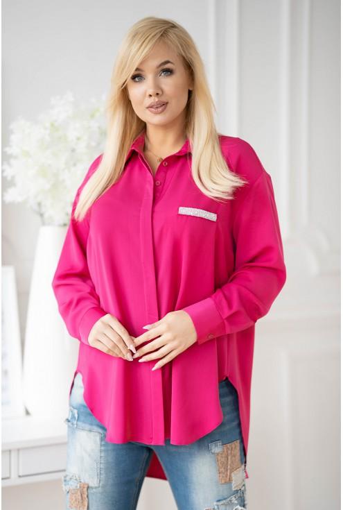 różowa koszula XXL Flavia