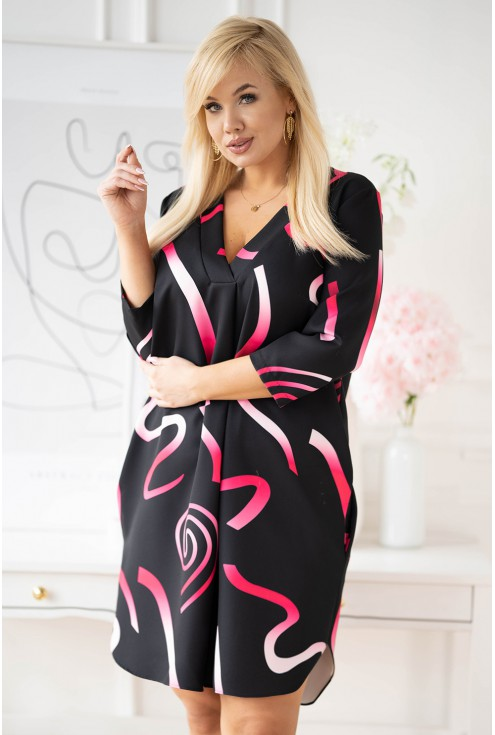 Czarna sukienka Chiara XXL