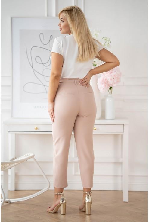 spodnie plus size Gianna eleganckie