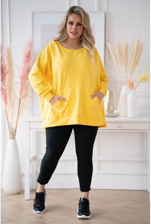 żółta bluza XXL oversize