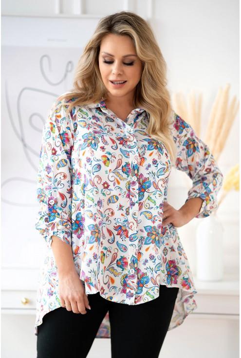 rozszerzana koszula plus size xxl