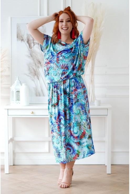 Sukienka XXL Grand Print