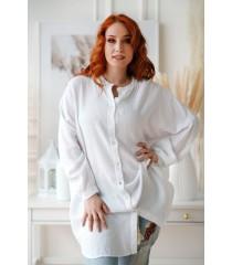 Oversizowa biała letnia koszula - Oriana