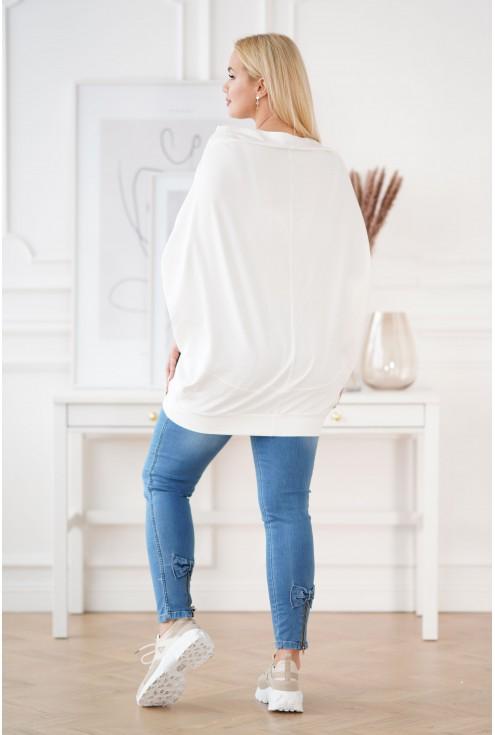 kremowa bluzka Valerma XXL
