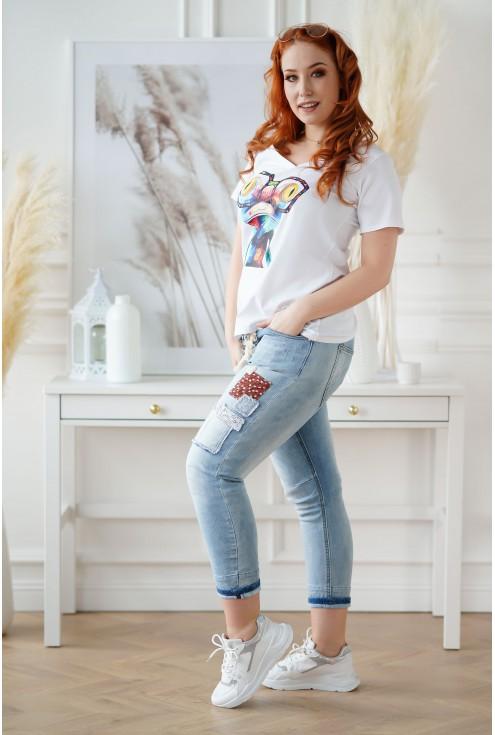 jeansy Brisa duże rozmiary