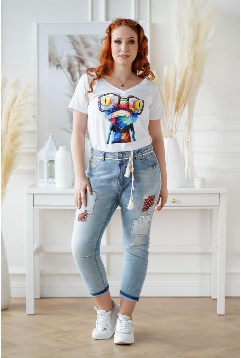 biała bluzka Sasha