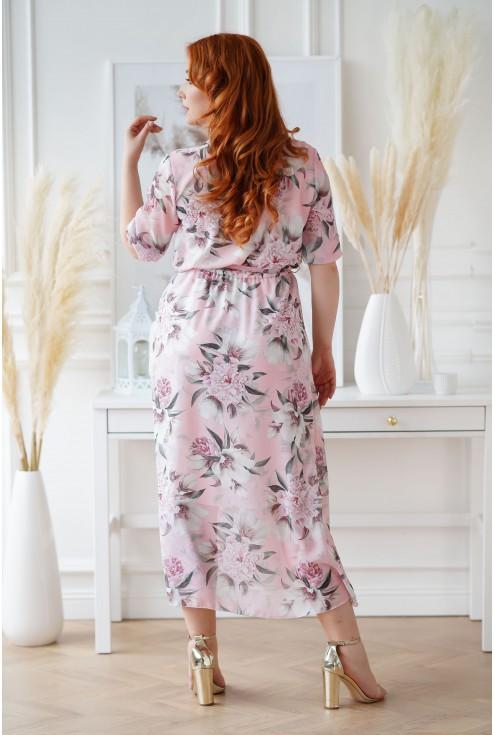 sukienka maxi plus size Adela