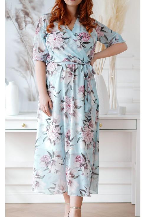 sukienka adela plus size xxl