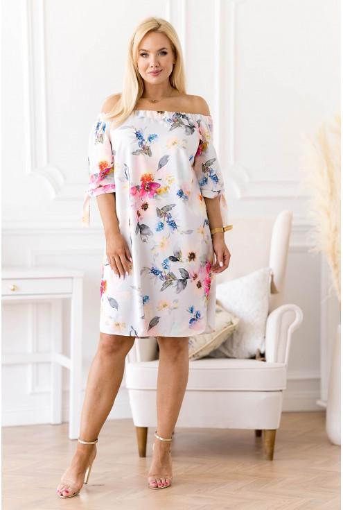 Jasnoniebieska sukienka Rosela