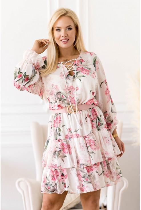 zwiewna sukienka XXL