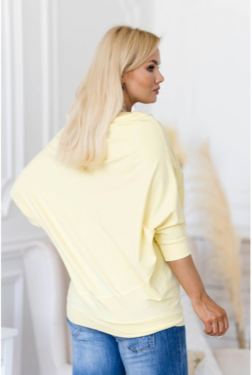 jasnożółta bluzka XXL