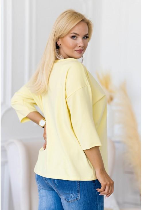bluzka w dużych rozmiarach
