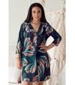 Sukienka z kolorowym wzorem - CHIARA