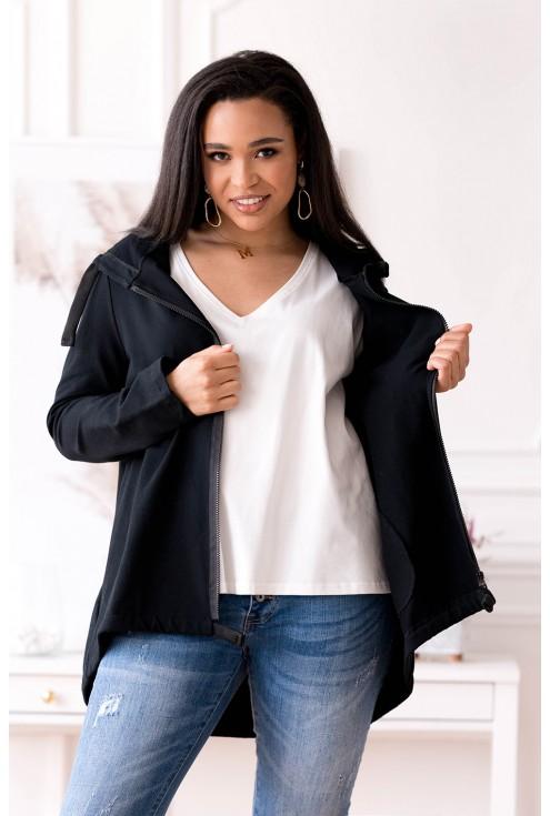 Wygodna rozpinana bluza duże rozmiary dla kobiet