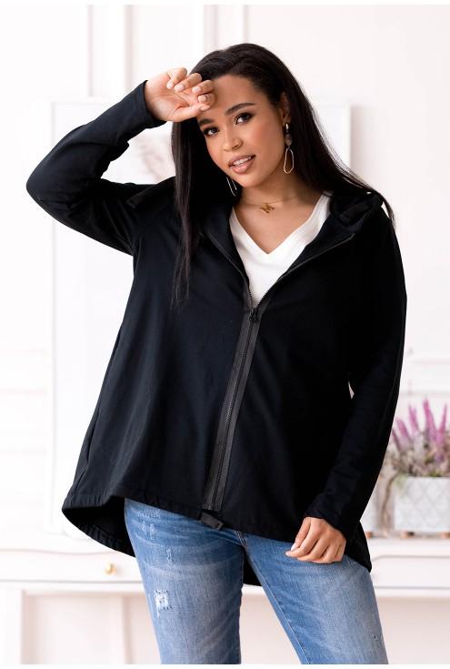 Czarna bluza plus size xxl
