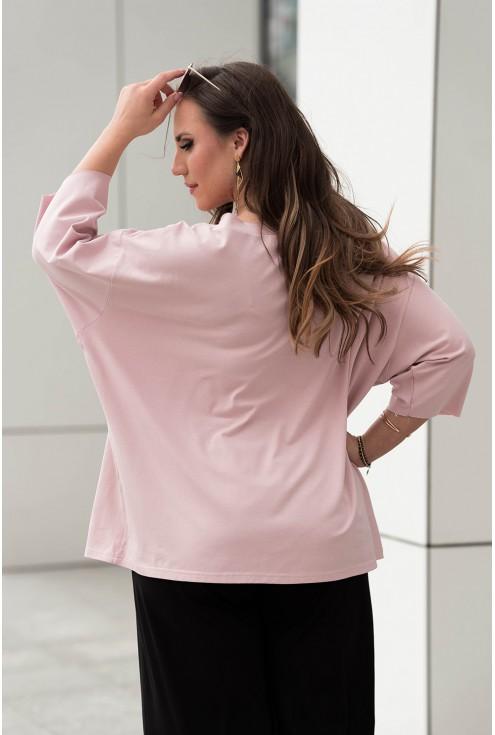 Tył wygodnej bluzki plus size ze sklepu XL-ka.pl