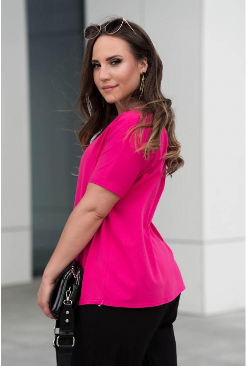 Bok różowej bluzki ze sklepu XL-ka.pl