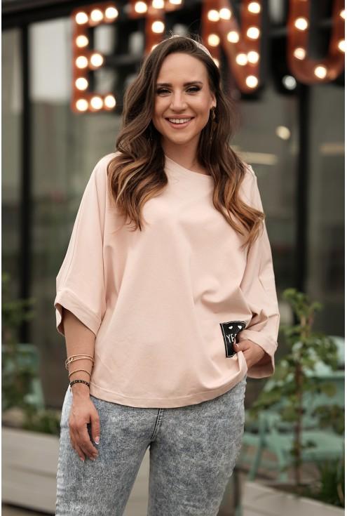 stylowa bluzka kimono xxl