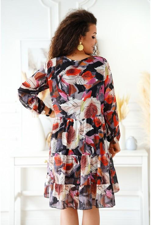 sukienka oversizowa w dużych rozmiarach