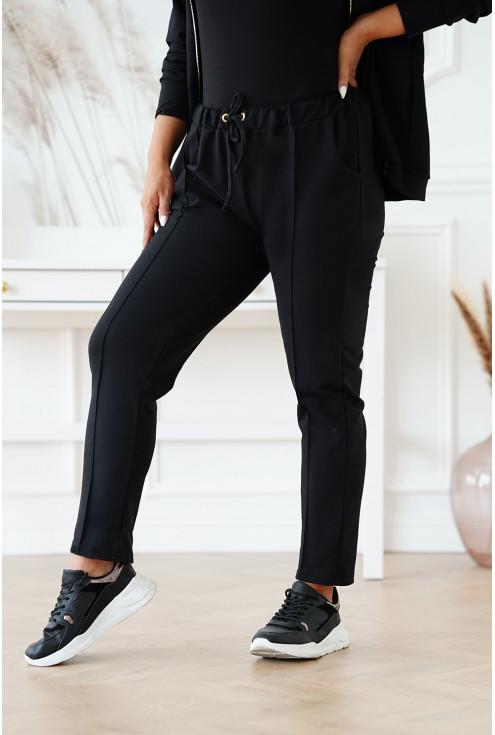 dresowe spodnie plus size Harvi