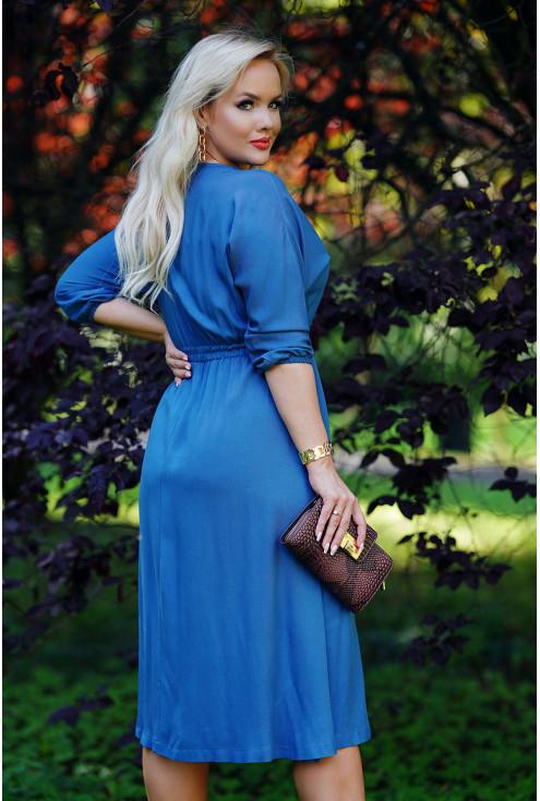 rozkloszowana sukienka XXL