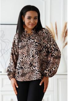 Wizytowa bluzka plus size Nansi