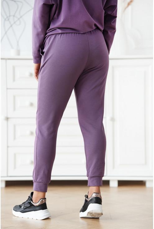 bawełniane spodnie xxl