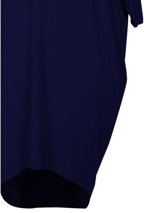 Sukienka oversize granatowa SUSAN