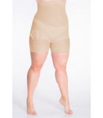 Beżowe majtki wyszczuplające brzuch i biodra