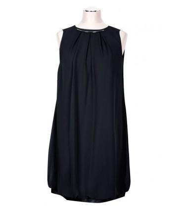 Czarna sukienka bombka ANNIE