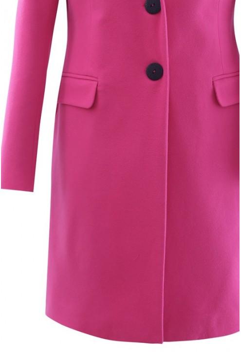 Różowy płaszczyk LENA