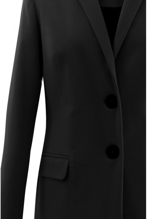 Czarny płaszczyk LENA