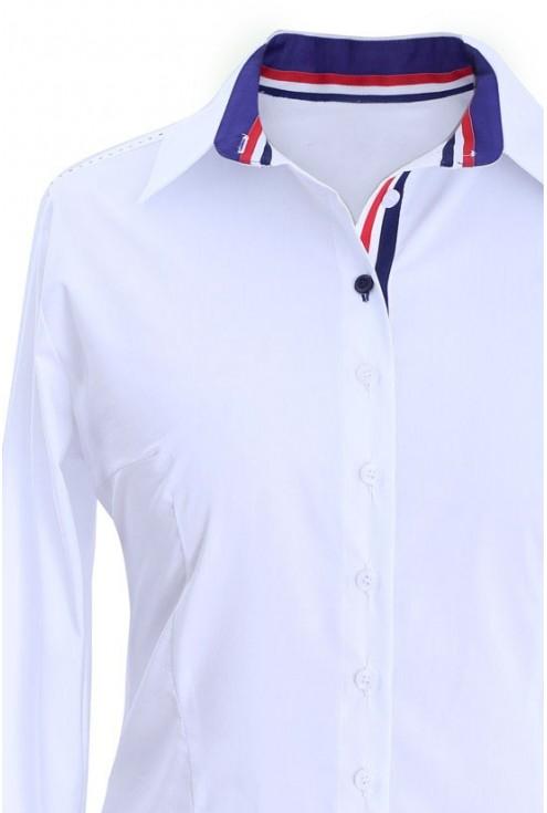 Elegancka koszula wizytowa biała ADA