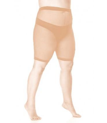 Beżowe majtki elastilowe SIZE ++ 30 den