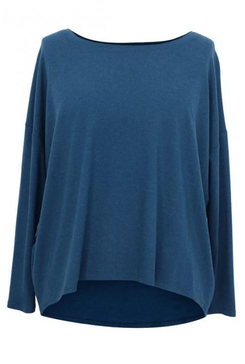 JEANSOWA dzianinowa bluzka oversize ERIN 2