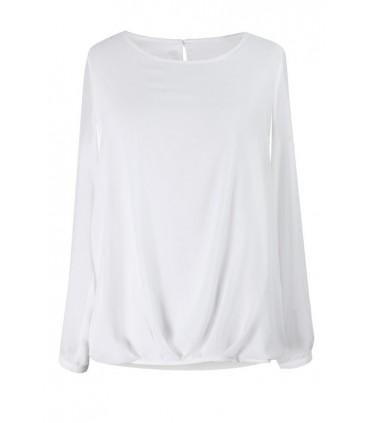 Elegancka bluzka z długim rękawe - ANDRE